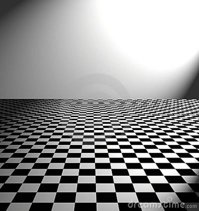 Checkered Flooring For Kitchen