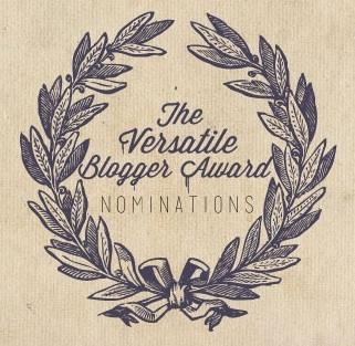 Nominación the Versatiles blogging Award