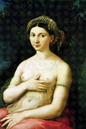 La formarina, Rafael Sanzio. óleo sobre lienzo S.XVI