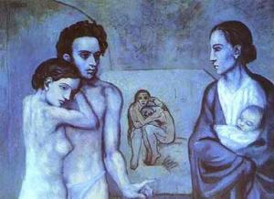 La vida. Pablo Picasso 1903